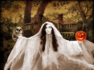 Happy Halloween Poster by Jessica Jenney