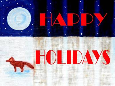 Happy Holidays 12 Poster by Patrick J Murphy