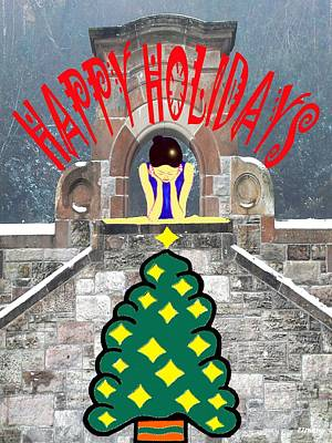 Happy Holidays 16 Poster by Patrick J Murphy