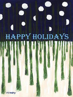 Happy Holidays 2 Poster by Patrick J Murphy