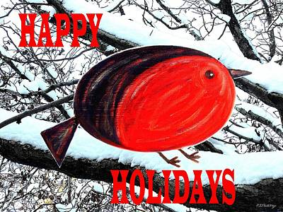 Happy Holidays 20 Poster by Patrick J Murphy