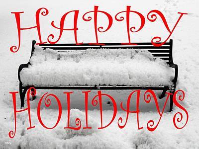 Happy Holidays 33 Poster by Patrick J Murphy