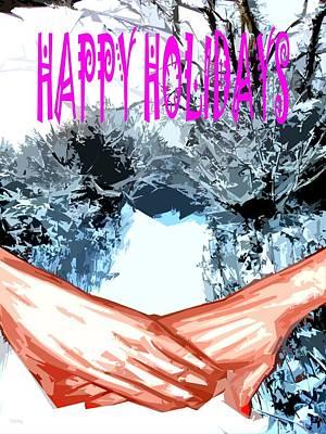 Happy Holidays 81 Poster by Patrick J Murphy
