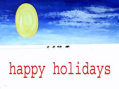 Happy Holidays 92 Poster by Patrick J Murphy