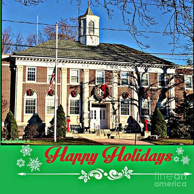 Happy Holidays  From Southington,conn Poster