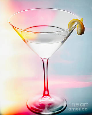 Happy Hour Martini Poster