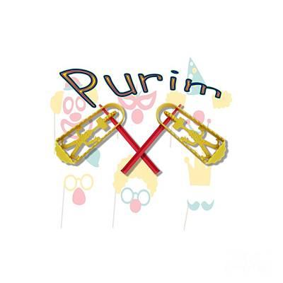 Happy Joyous Purim  Poster by Humorous Quotes