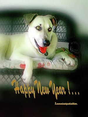 Happy New Year Art  Poster
