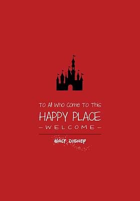 Happy Place Poster by Nancy Ingersoll
