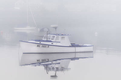 Harbor Mist   Poster by Thomas Schoeller