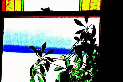 Harbor Side Window Poster