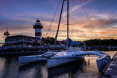 Harbour Town Sunrise II Poster