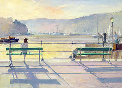 Harbour View Poster by Timothy Easton