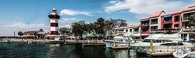 Harbourtowne Panorama  Poster by Thomas Marchessault
