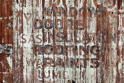 Hardware Store Ghost Sign Poster by Art Block Collections