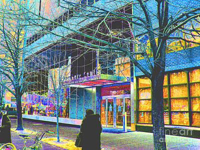 Harlem Street Scene  Poster by Steven Huszar