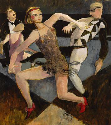 Harlequin Floor Show Poster