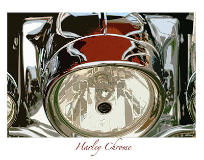 Harley Chrome Poster