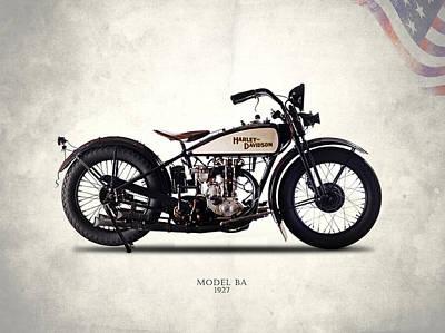 Harley-davidson Ba 1927 Poster