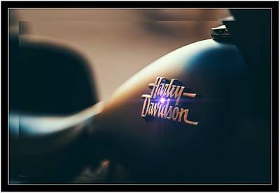 Harley Davidson Cycle Poster