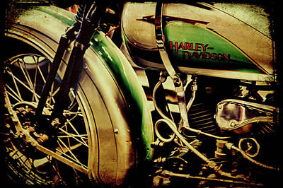 Poster featuring the photograph Harley Davidson by Joel Witmeyer