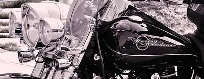 Harley Davidson Road King  Motorcycle Poster