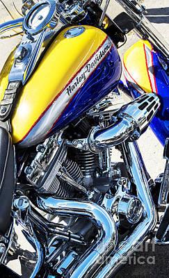 Harley Davidson Screamin Eagle Fatboy Poster