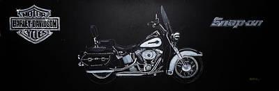 Harley Davidson Snap-on Poster