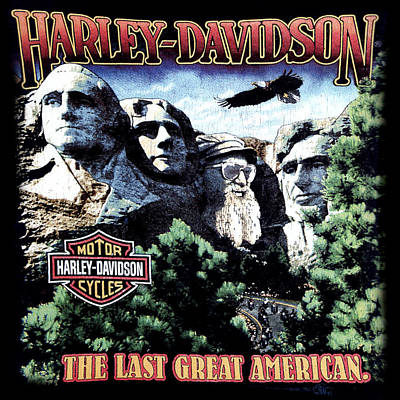 Harley Davidson The Last Great American Poster