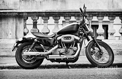Harley Davidson V-twin Poster