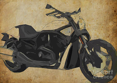 Harley Davidson Vrscdx Night Rod - 2014 Poster by Pablo Franchi