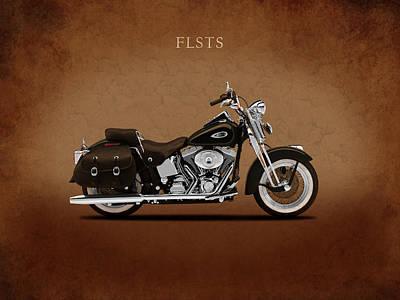 Harley Heritage Springer Poster