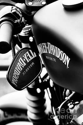 Harley Iron 883 Poster
