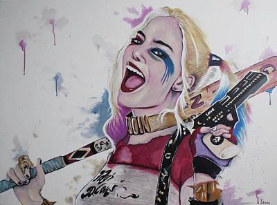 Harley Quinn Poster by Jamie Bishop