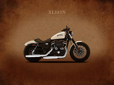 Harley Sportster Iron Poster by Mark Rogan