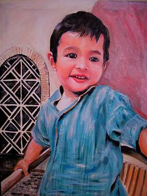 Harmain Poster by Khalid Saeed