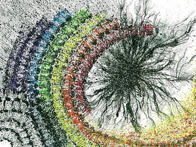 Harmonic Vibes Of The Rainbow Tribe #647 Poster