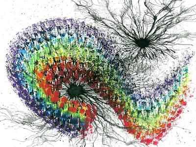 Harmonic Vibes Of The Rainbow Tribe #651 Poster