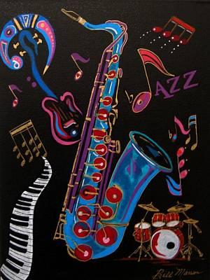 Harmony In Jazz Poster