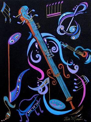 Harmony In Strings Poster