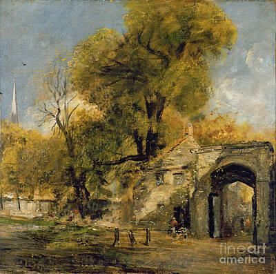 Harnham Gate - Salisbury Poster by John Constable