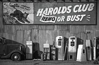 Harold's Club Poster by Marius Sipa