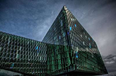 Harpa Poster by Wade Courtney