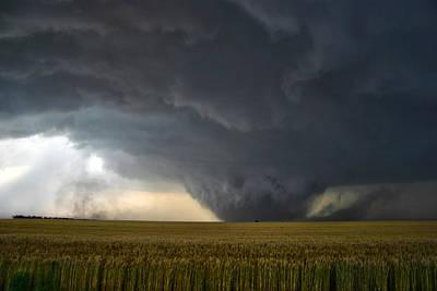 Poster featuring the photograph Harper Kansas Tornado 2  by James Menzies
