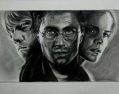 Harry Potter Poster by Gracja Waniewska
