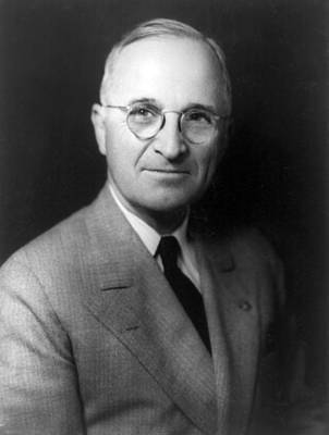 Harry S Truman - President Of The United States Of America Poster