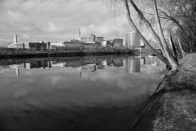 Hartford Reflects Poster by Karol Livote