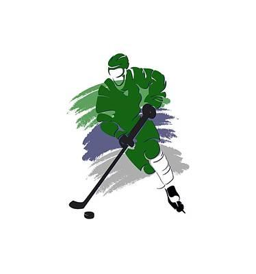 Hartford Whalers Player Shirt Poster
