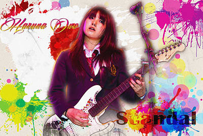 Haruna Ono - Scandal Poster by Don Kuing
