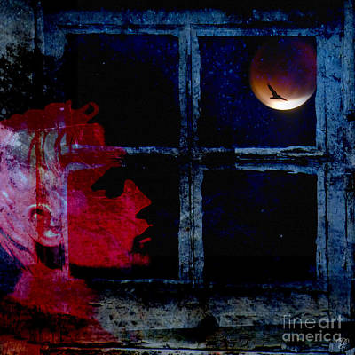 Poster featuring the photograph Harvest Moon by LemonArt Photography